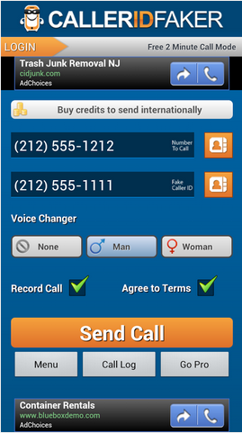 Caller ID Faker Android App Review | GiveMeApps Reviews Android