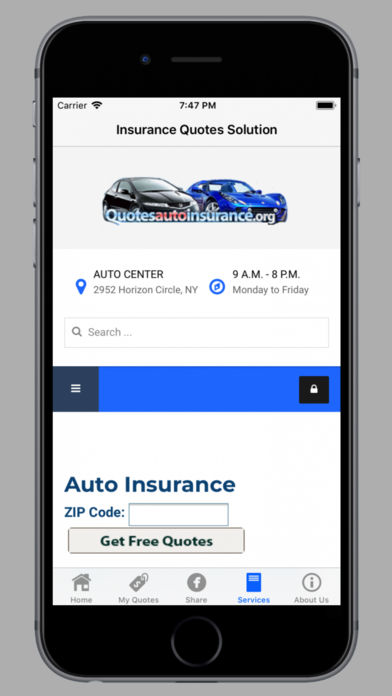 Insurance Quotes Solution | iPhone/iPad App Reviews | GiveMeApps