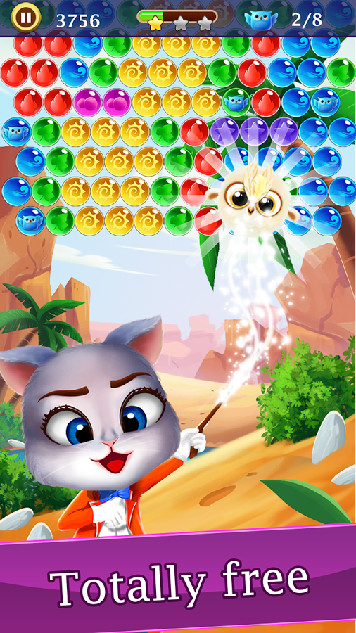 Android App Review: Panda Bubble Pop | GiveMeApps