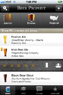 iPhone/iPad App Review: Beer Prophet | GiveMeApps