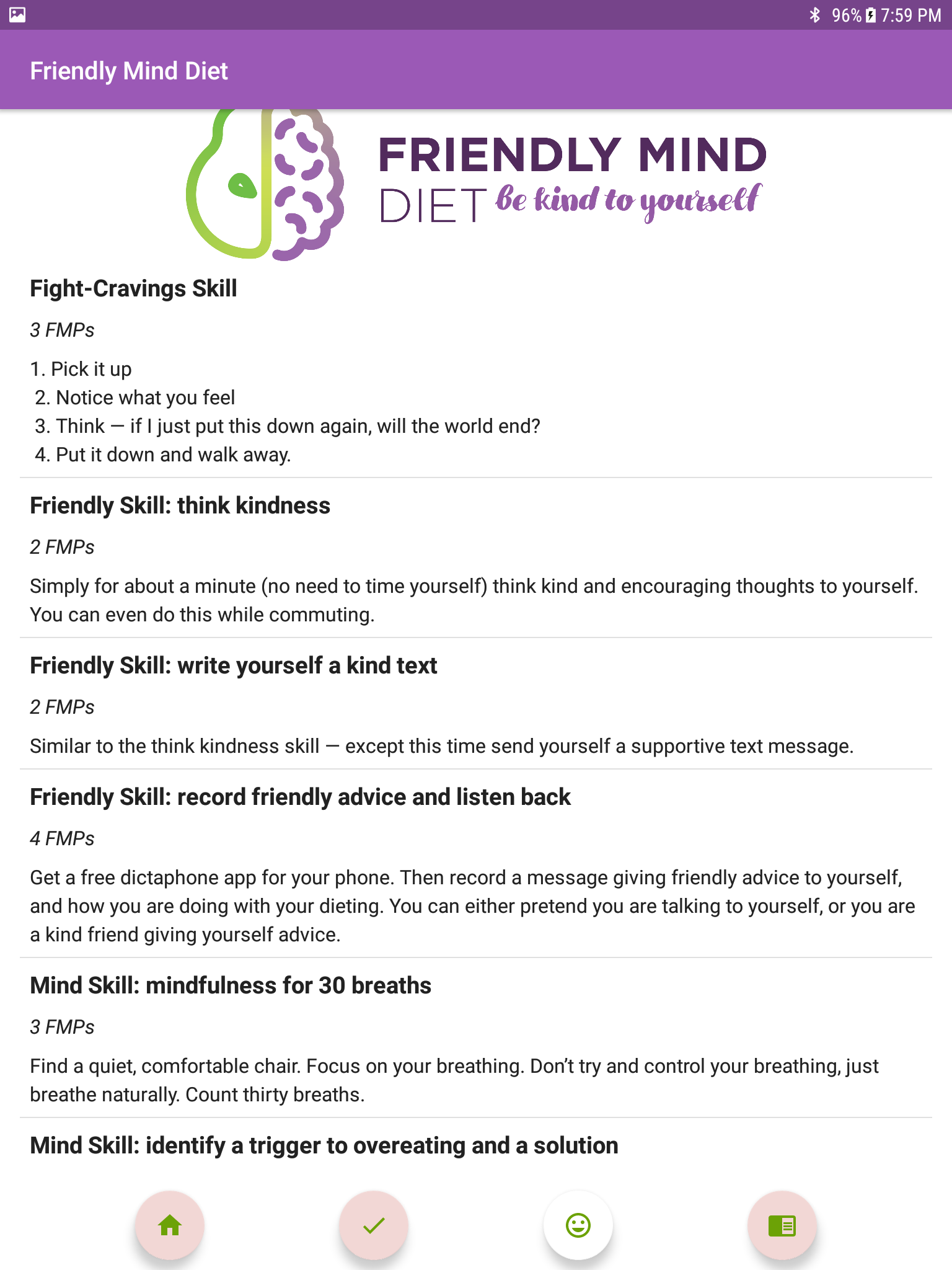 Friendly Mind Diet | Android | GiveMeApps