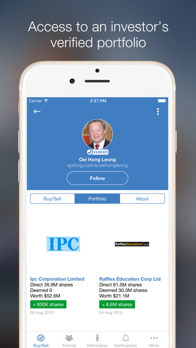iPhone/iPad App Review: Spiking Verified Social Trading | GiveMeApps