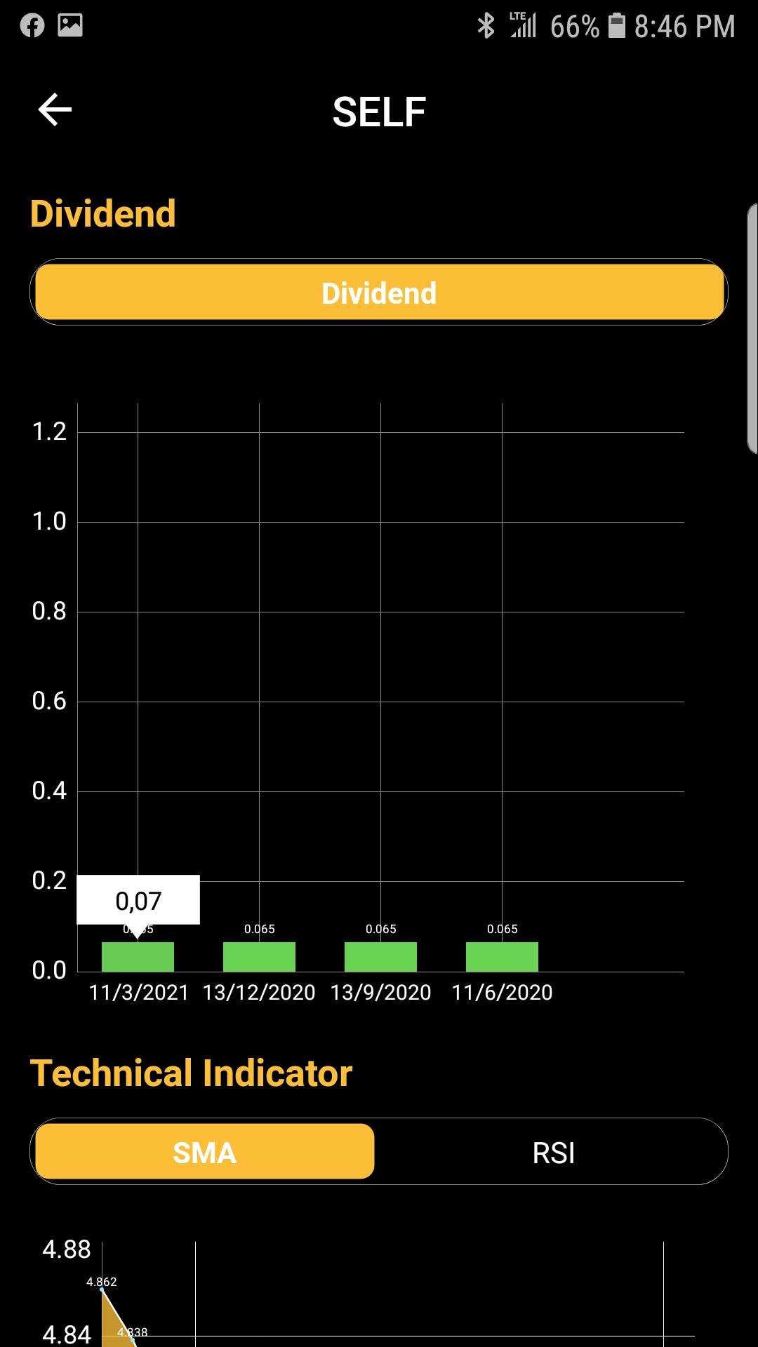 Penny Stocks | Dividend Screen | Android | GiveMeApps