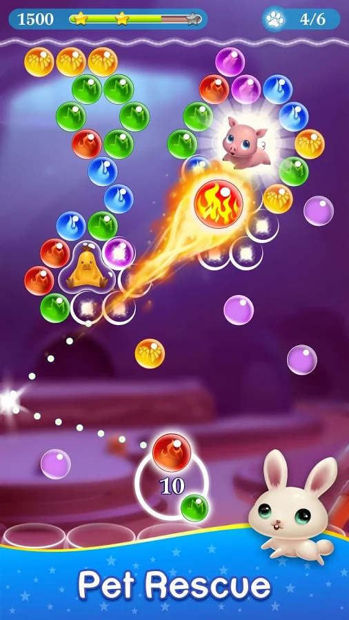 Android App Review: Monster Pet Pop Bubble Shooter