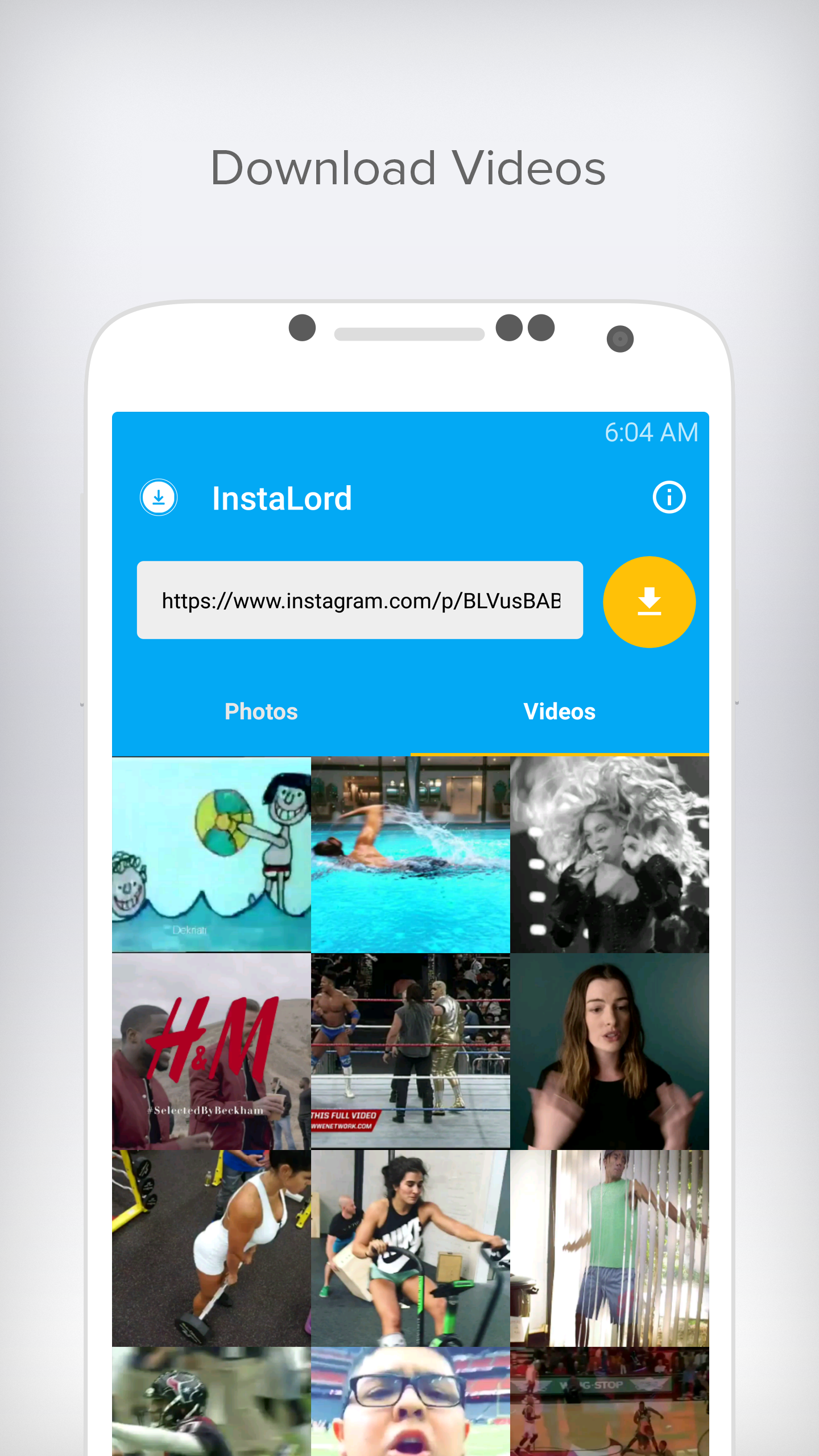 InstaLord Save Instagram Video   GiveMeApps Android